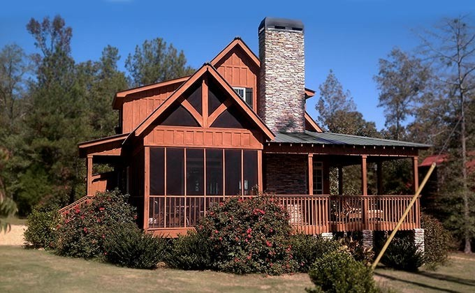 Small Log Cabin Plans Wrap Around Porch Woodworktips