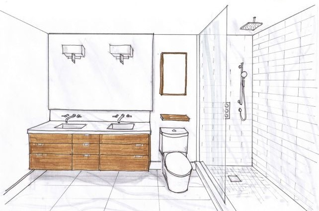 Small Master Bathroom Floor Plans Design Ideas