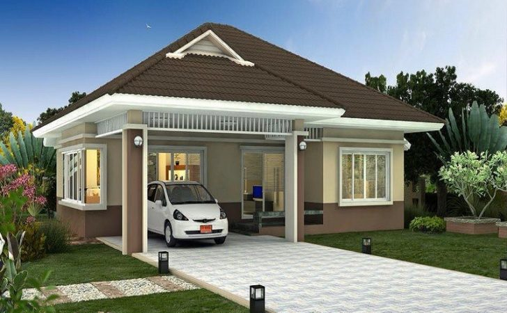 Small Modern Bungalow House Plans