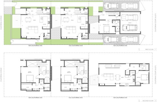Small Modern Courtyard House Plans Cottage