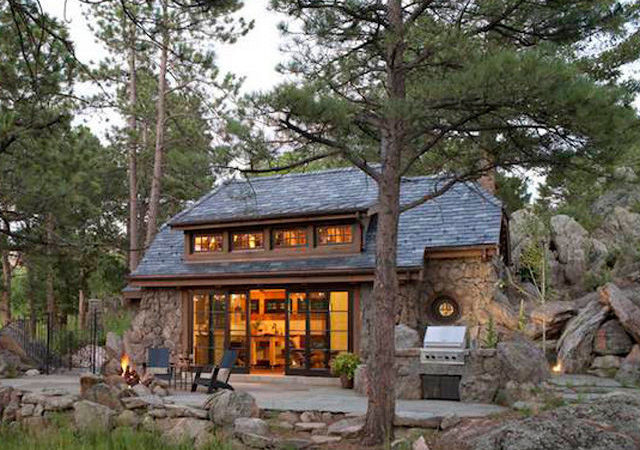 Small Modern Mountain Home Plans
