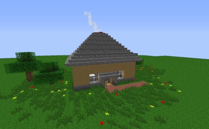 Small Peaceful House Minecraft Build Building Inc