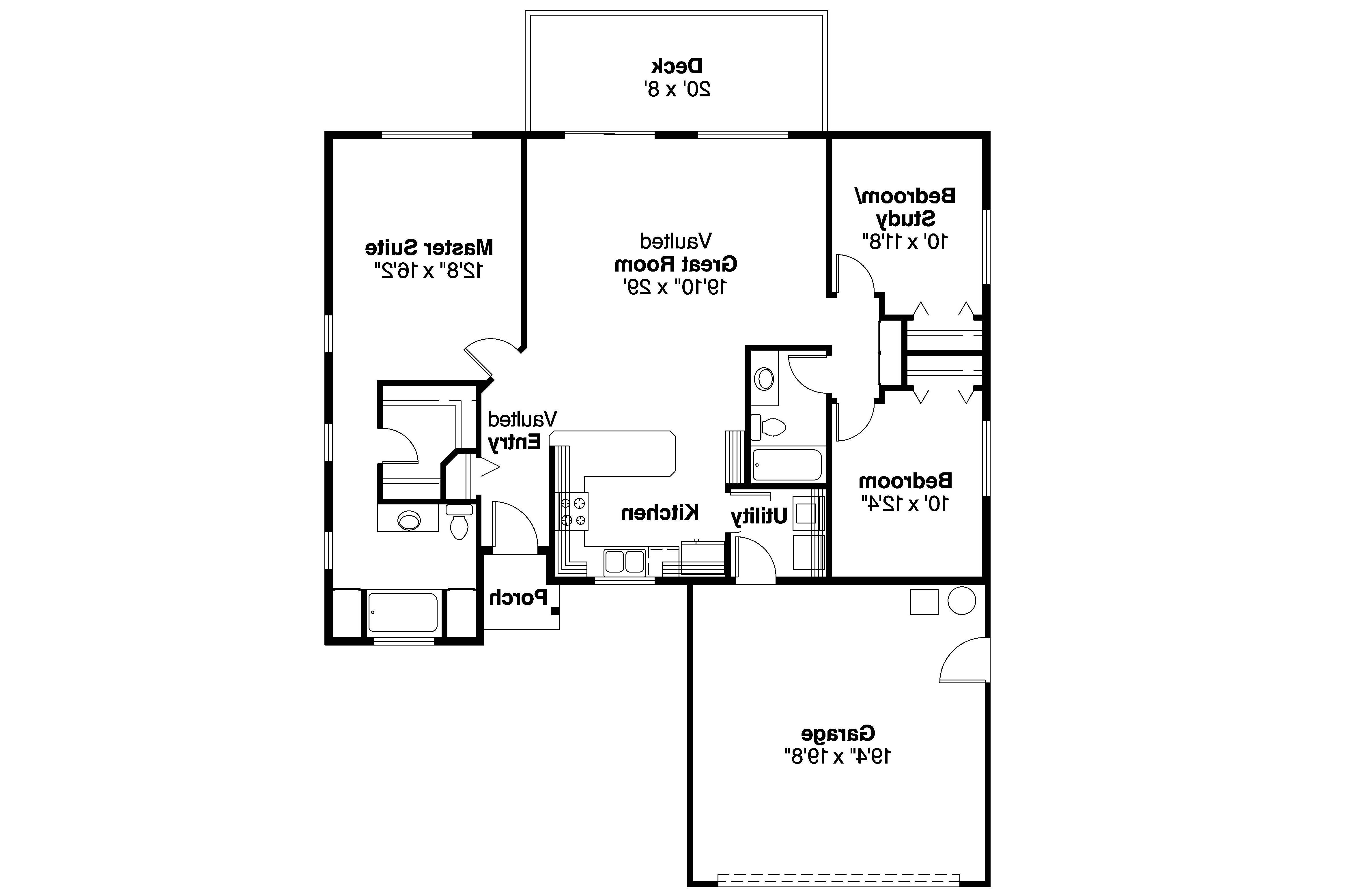 Small Ranch House Plans Modern