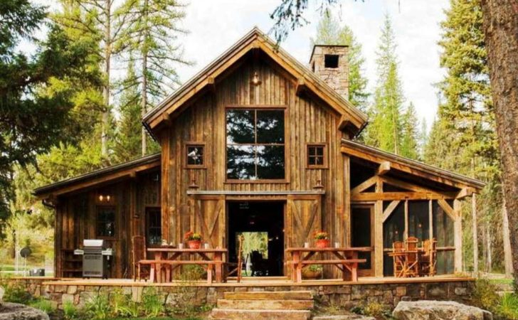 Small Rustic House Plans Porches