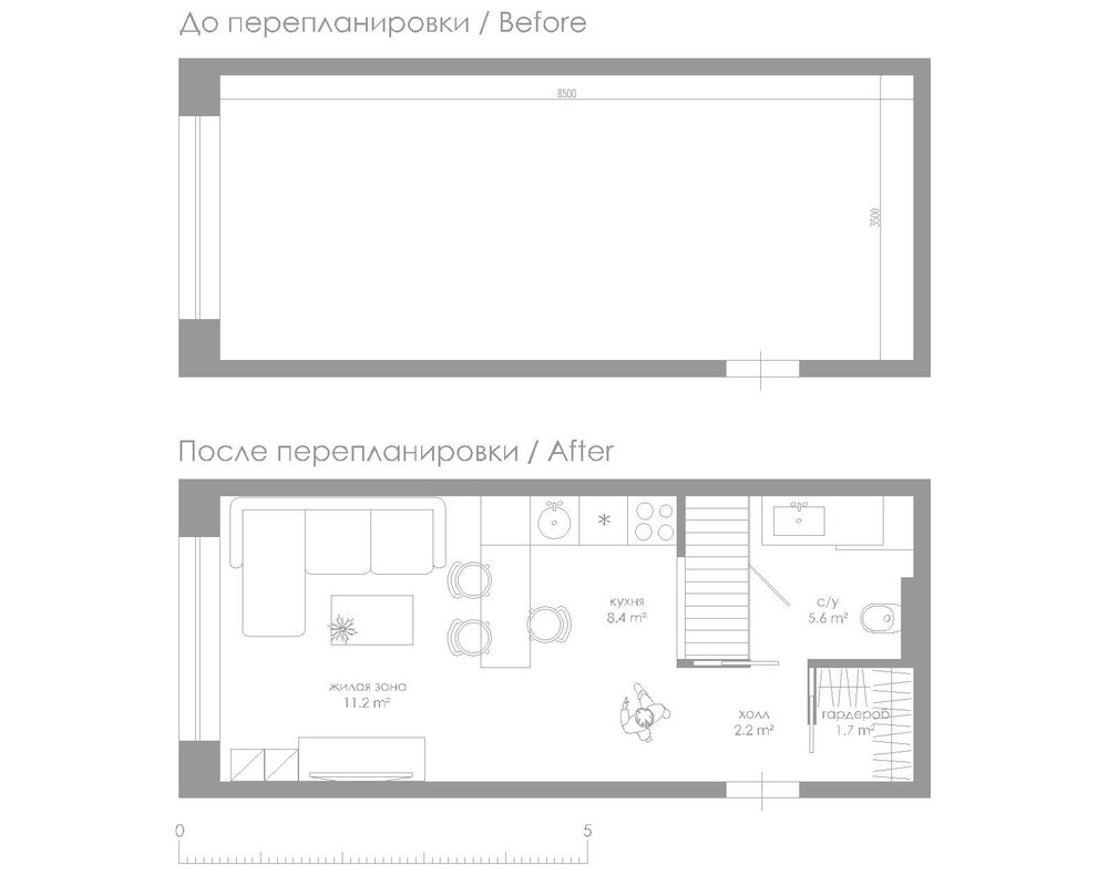 Small Square Meter Apartment Design