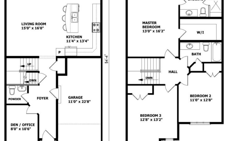 Small Storey House Plans