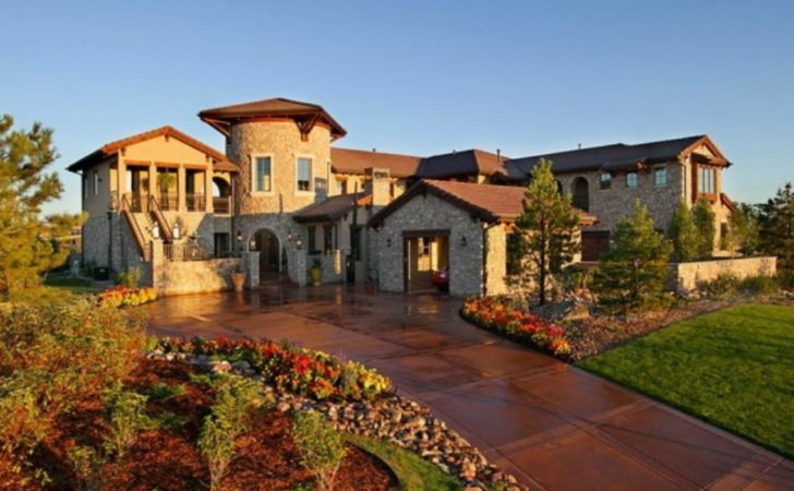 Small Tuscan Style House Plans Exterior Design