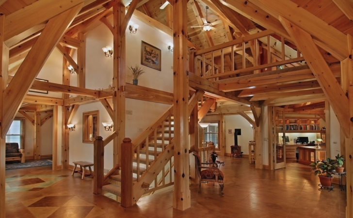 Small Variations Timber Frame House Plans Today
