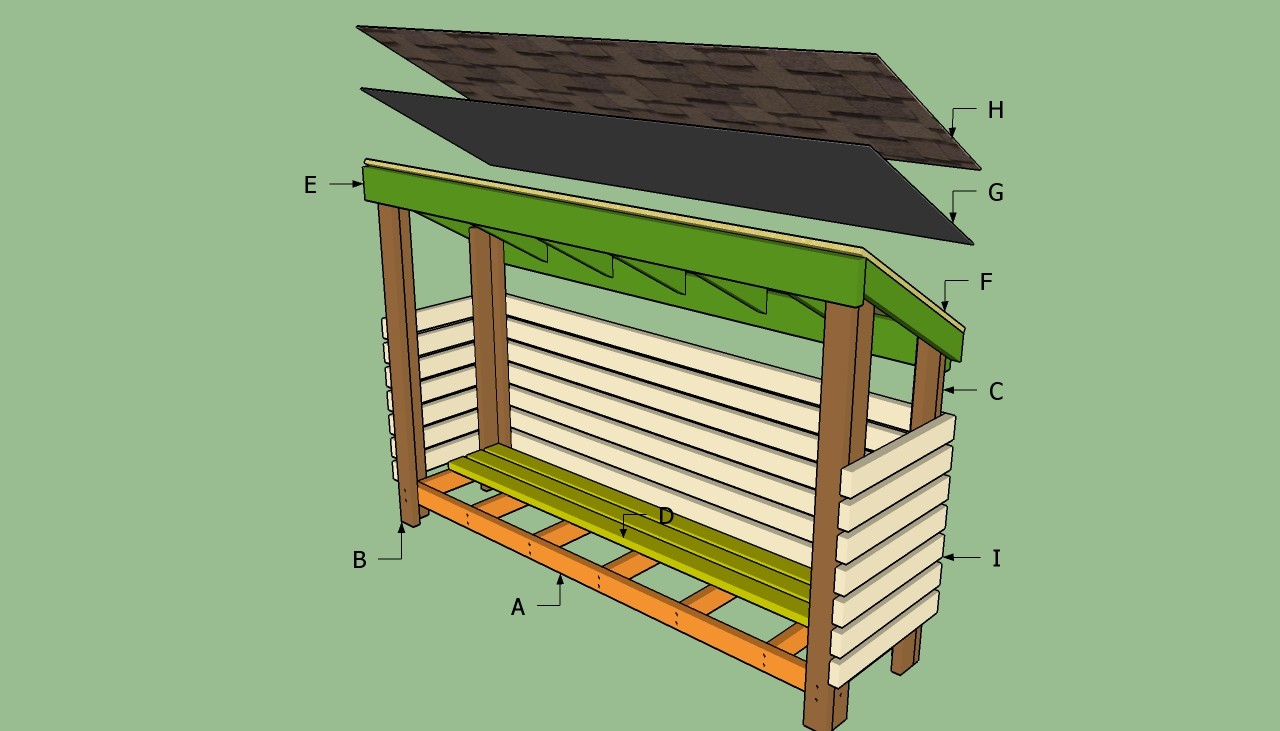 Small Wood Shed Plans Kits