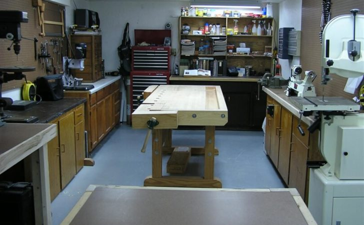 Small Woodworking Shop Design Garage