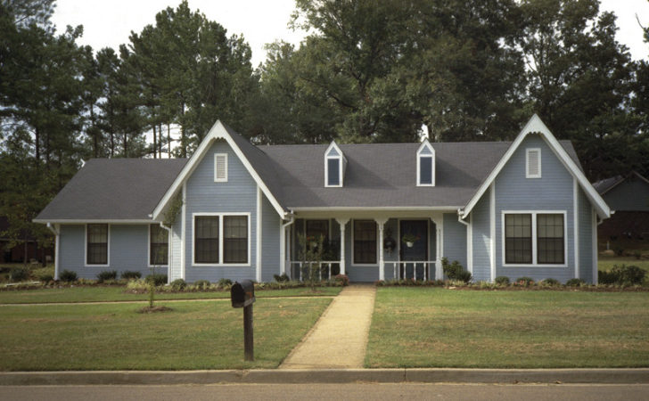 Smith River Southern Ranch Home Plan House