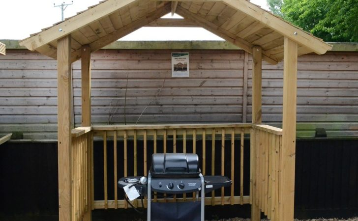 Softwood Garden Bbq Shelter Somerlap Forest Products