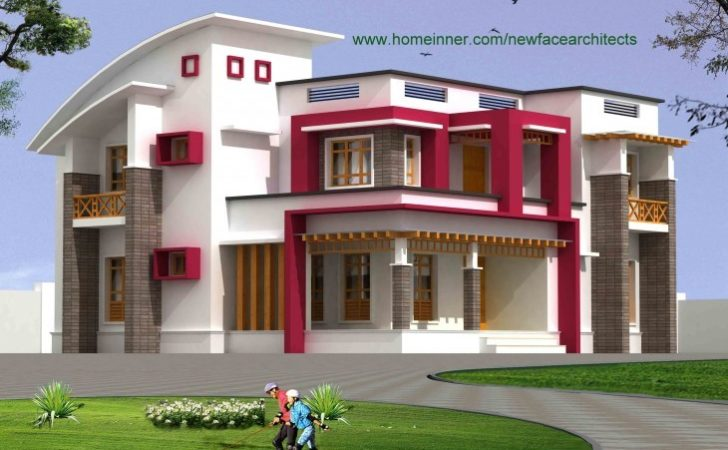 South Indian Bungalow Design