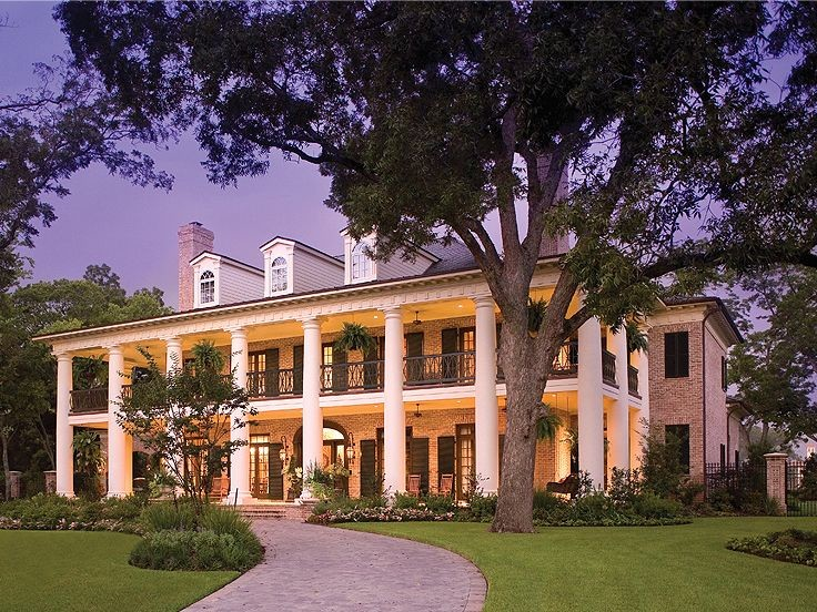 Southern House Plans Home Colonial Flair