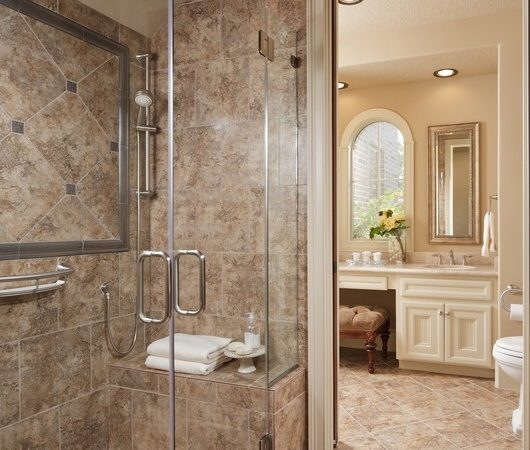 Southern Living Master Bathroom Traditional