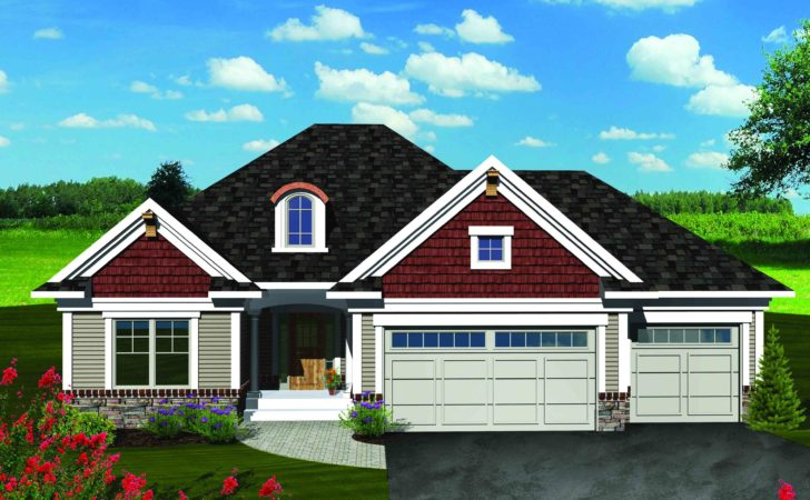 Southern Ranch Home Plan Floor Master