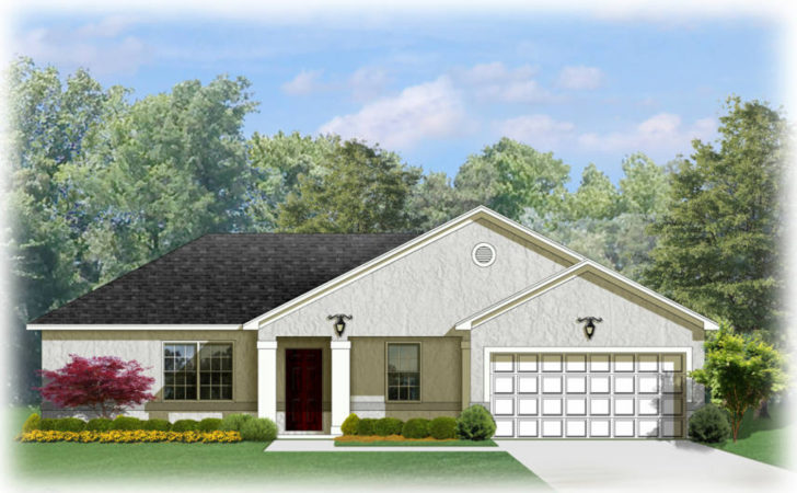 Southern Ranch House Plan Architectural