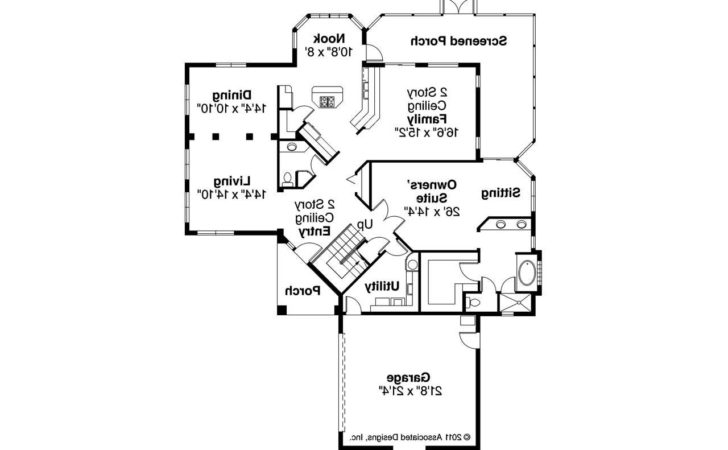 Southwest House Plans Southaven Associated Designs