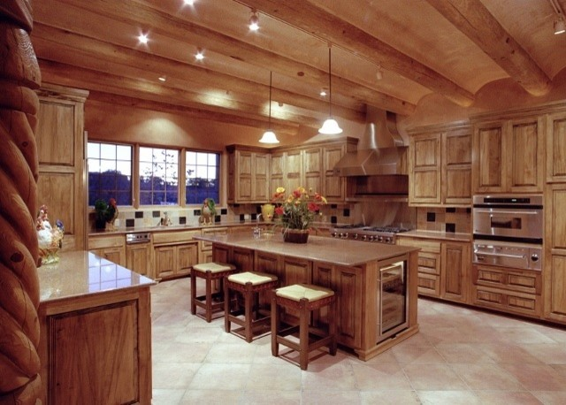 Southwest Style Hom Traditional Kitchen Albuquerque