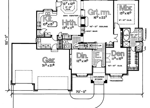 Southwestern House Plan Ultimate Home Plans