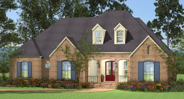 Spacious Traditional House Plans Designers