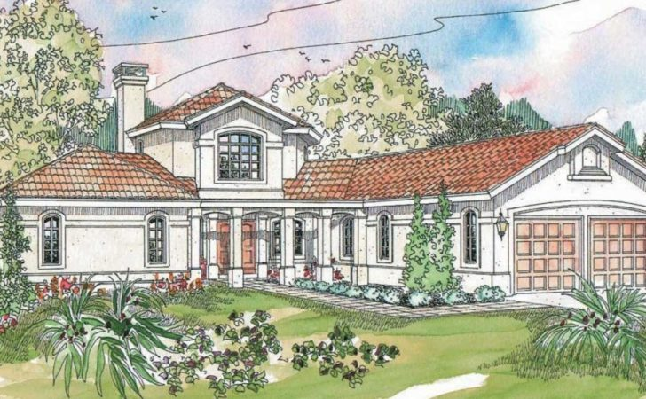 Spanish Style Homes Plans Floor Plan Design Ideas