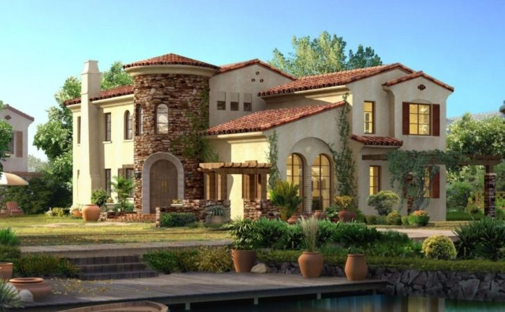 Spanish Style House Plans Exotic Design
