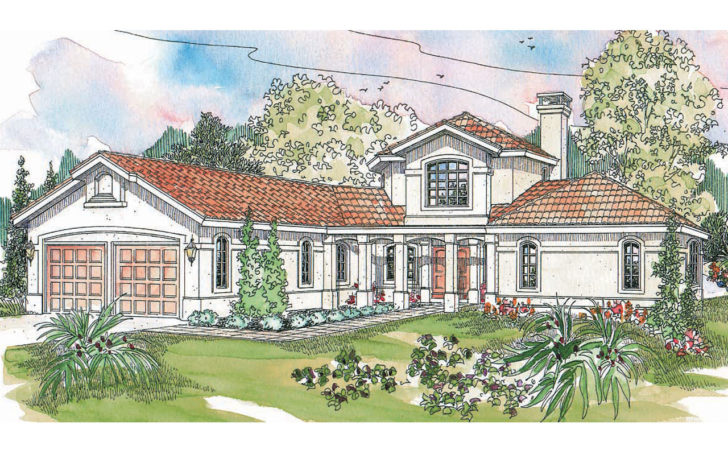 Spanish Style House Plans Grandeza Associated