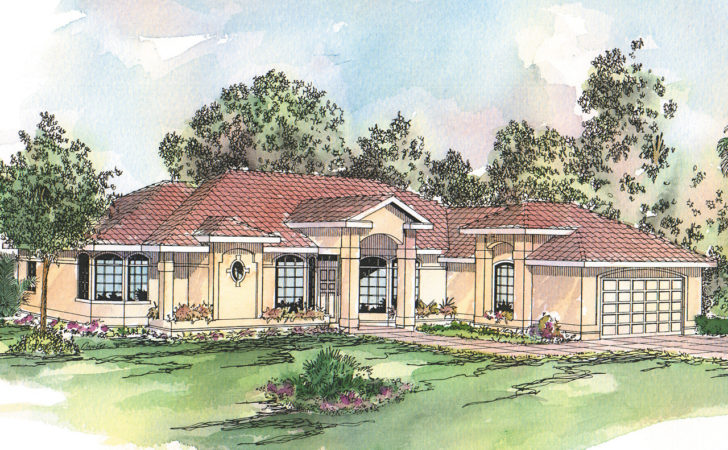 Spanish Style House Plans Richmond Associated
