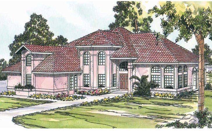Spanish Style House Plans Stanfield Associated