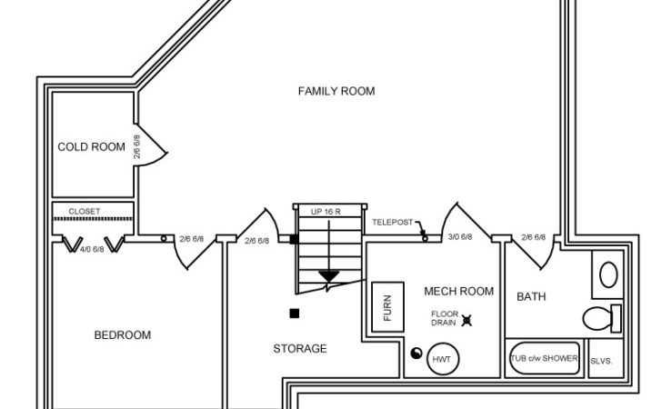 Splitlevel House Plan Canada