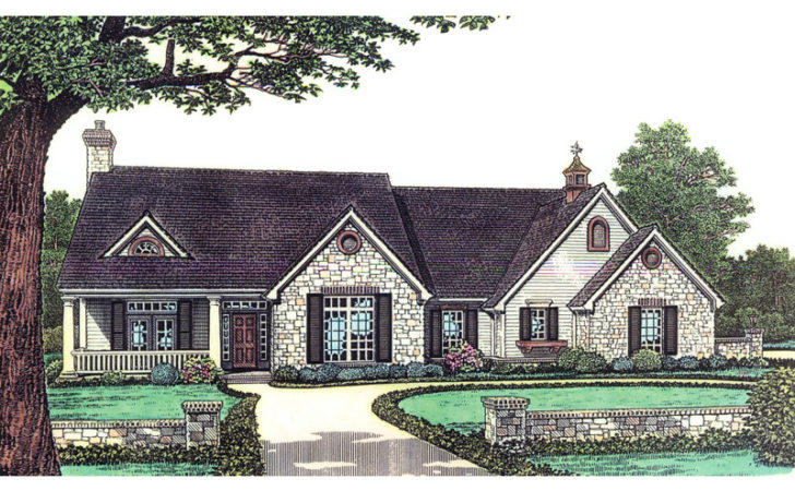 Sprucehaven Southern Ranch Home Plan House