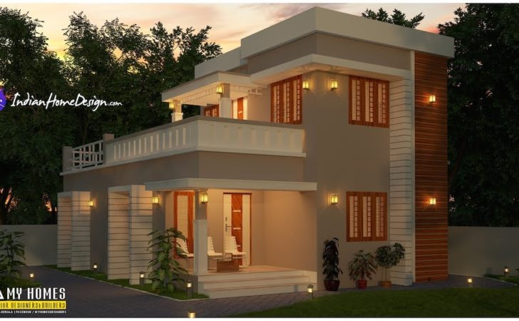 Sqft Attractive Bhk Budget Home Design Homes