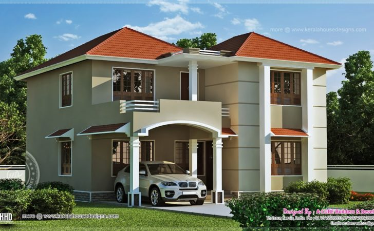 Square Feet Home Exterior Kerala Design
