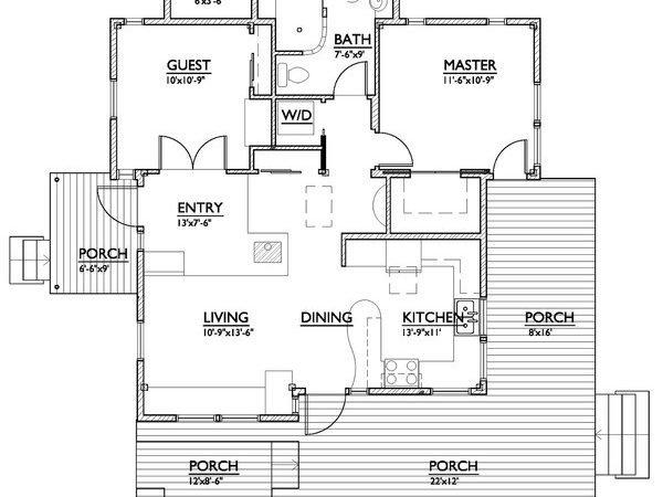 Square Feet House Plans Ideal Spaces