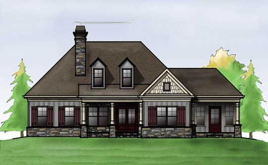 Square Feet House Plans Max Fulbright Designs
