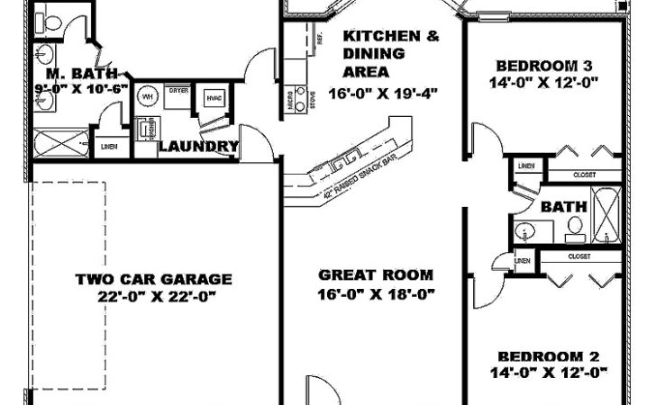 Square Foot Floor Plans