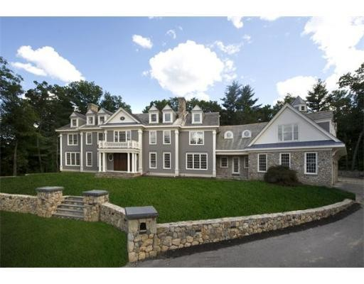 Square Foot Massachusetts Mansion Mansions More