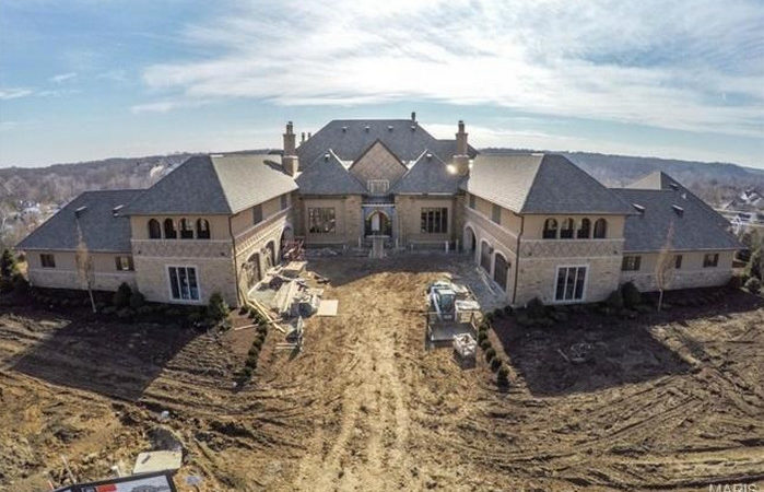 Square Foot Newly Built European Inspired Mansion