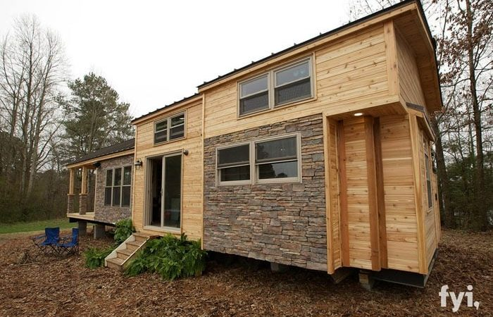 Square Foot Rustic Masterpiece Tiny House