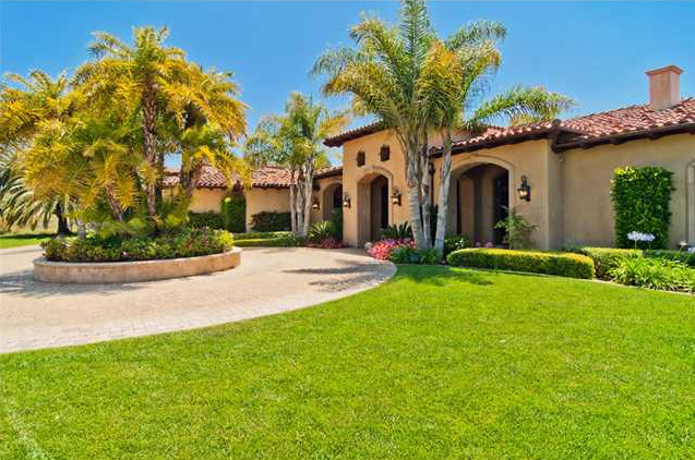 Square Foot Single Story Mansion San Diego