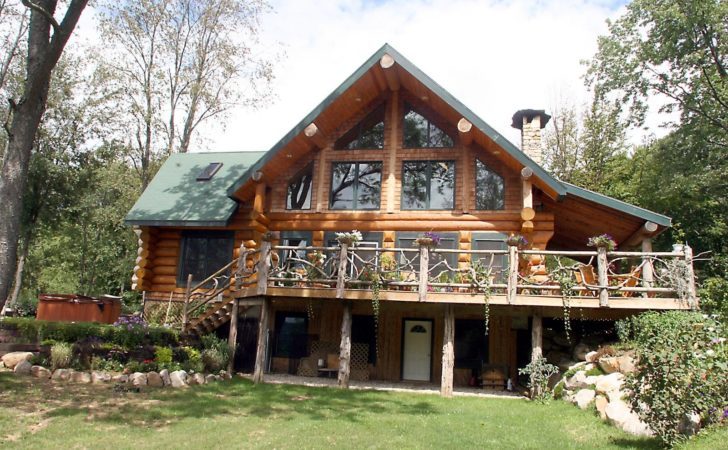 Square Log Home Designs Find House Plans