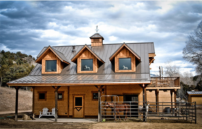 Stable Style Apartment Barn Taos Horses Heels