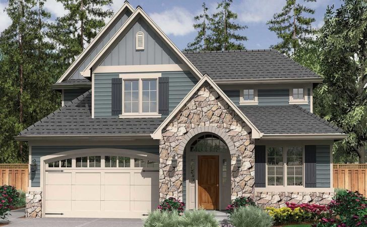 Starter Home Plan English Country Charm