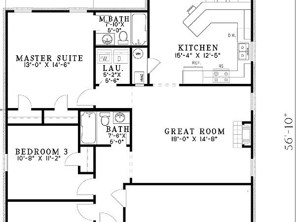 Starter Home Plan Options Architectural