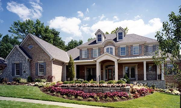 Stately Southern Colonial House Plan Home Plans Blog