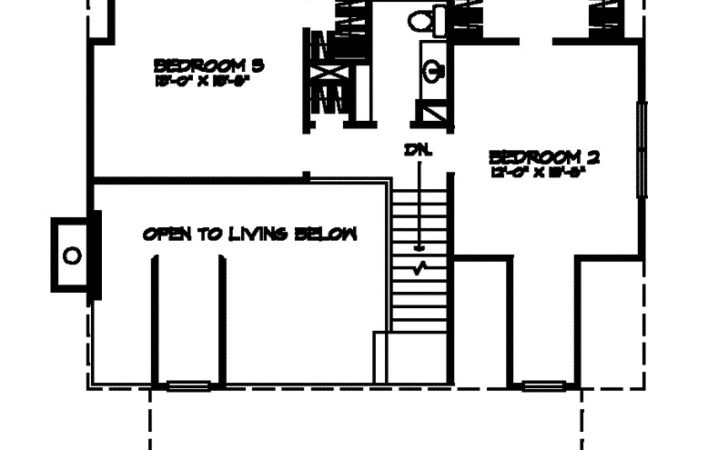 Stayton Rustic Cabin Home Plan House Plans