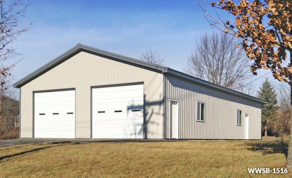 Steel Garage Buildings Kits Custom Shop Building