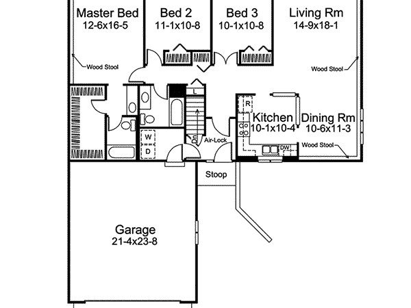 Stonehaven Berm Home Plan House Plans More