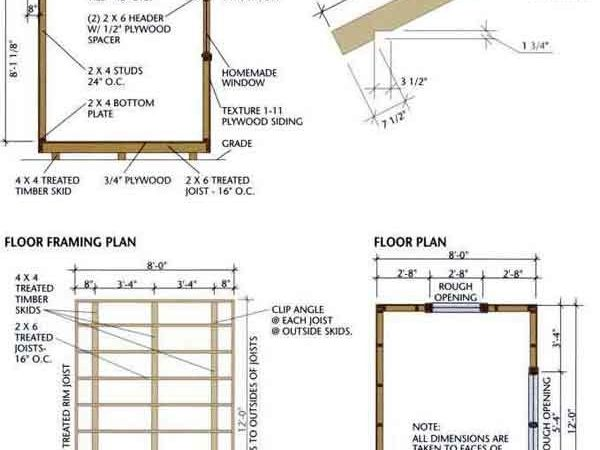 Storage Shed Plans Build Amish